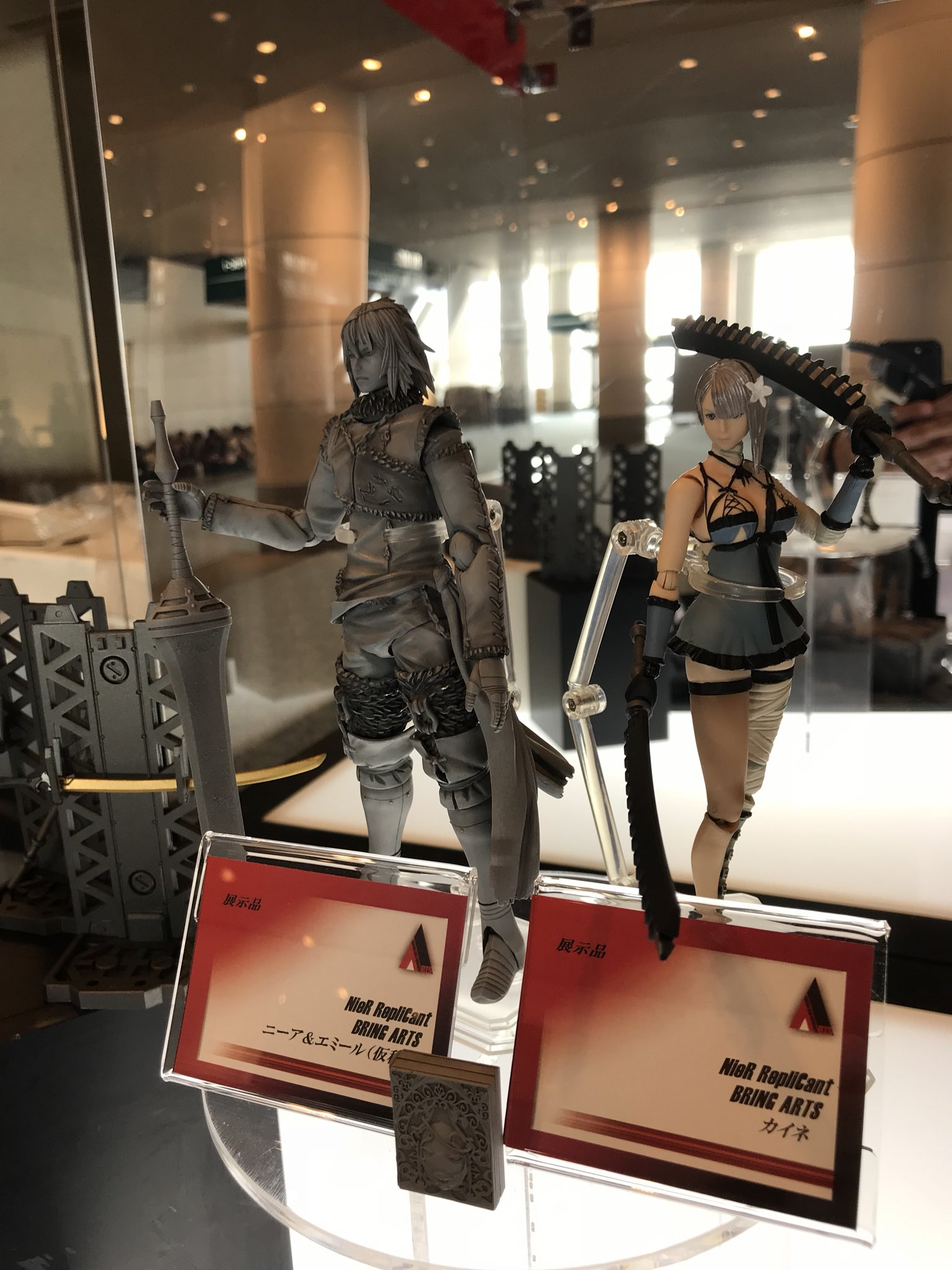 Windows Search Date 2018 09 18 Krezi Kamis 25 Wk Design Tassel Cable Data Ampamp Charging For Lightning Iphone Dan Micro Usb Kabel At An Exhibition In Japan Square Enix Showcased Multiple New Bring Arts 6 Scale Action Figures From The Critically Acclaimed Nierautomata Video Game