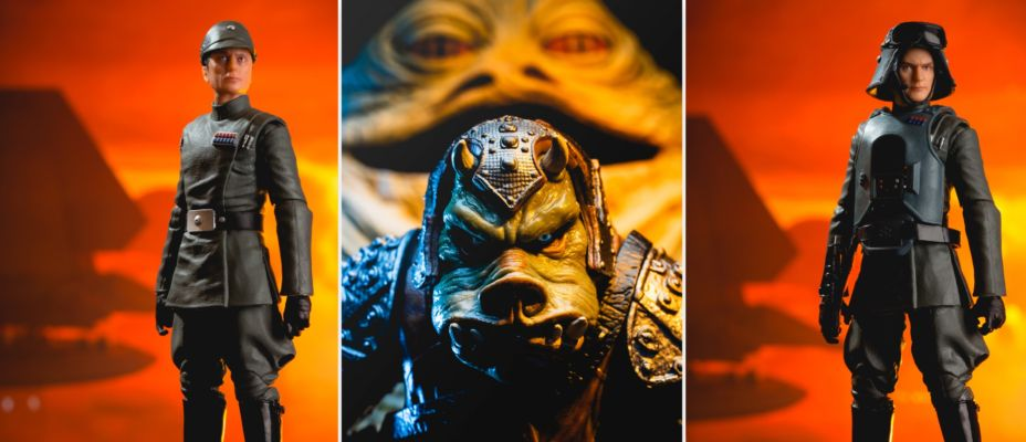 Admiral Piett, General Veers and Gamorrean Guard - Star Wars Black Series Exclusives Gallery