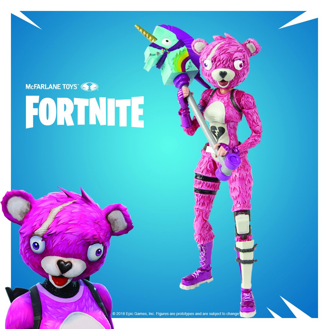 Official photos of the new fortnite figures by mcfarlane toys the toyark news - Cuddle team leader from fortnite ...
