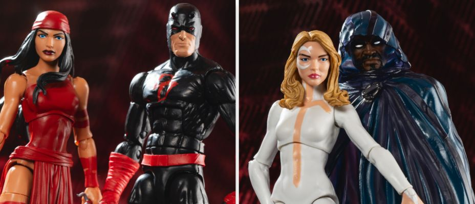 Marvel Legends Sp//dr Wave - Daredevil, Elektra, Cloak and Dagger!