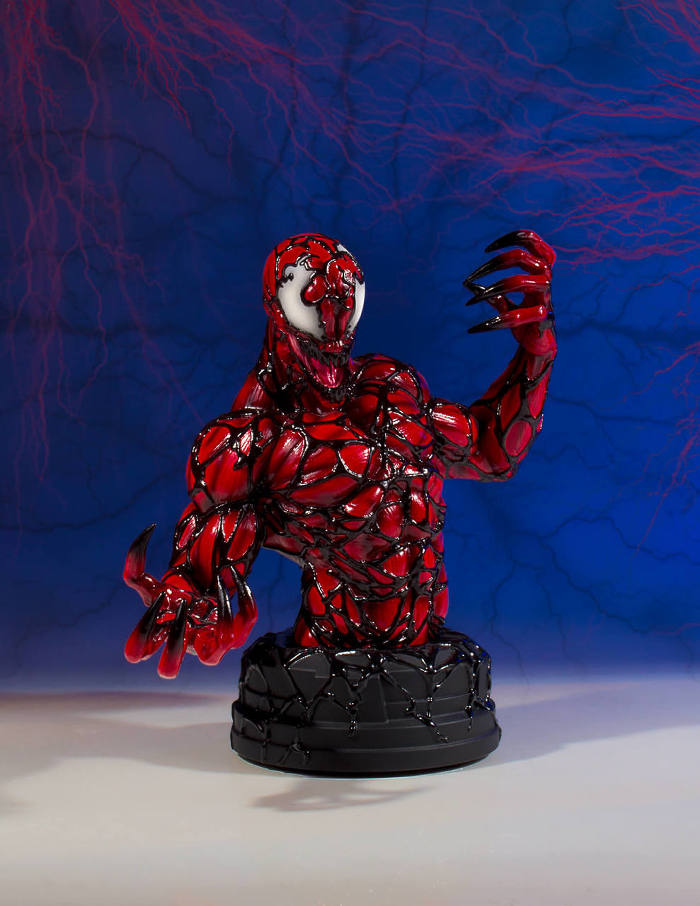 """3D Printable Carnage-Bust from """"Spider-Man"""" (Support Free ...  