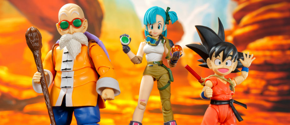 S.H. Figuarts Dragonball Bulma Photo Shoot