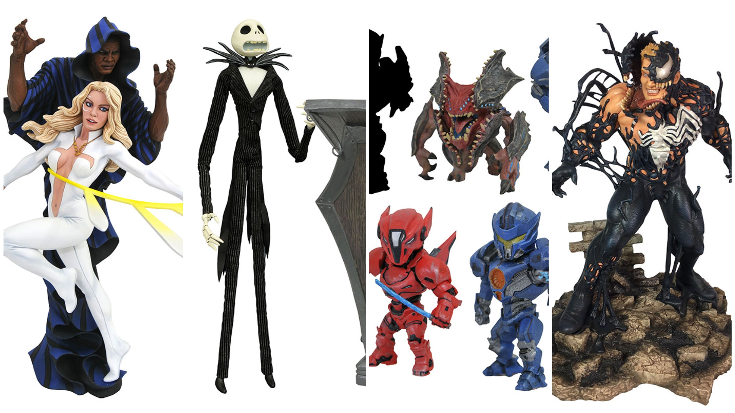 Diamond Select Toys In Stores Now ? Venom, Black Panther, Pacific Rim and More!