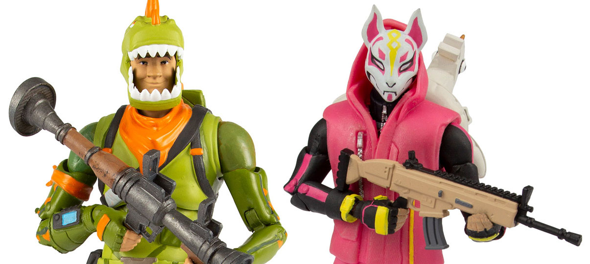 Mcfarlane Fortnite Drift And Rex Official Photos The