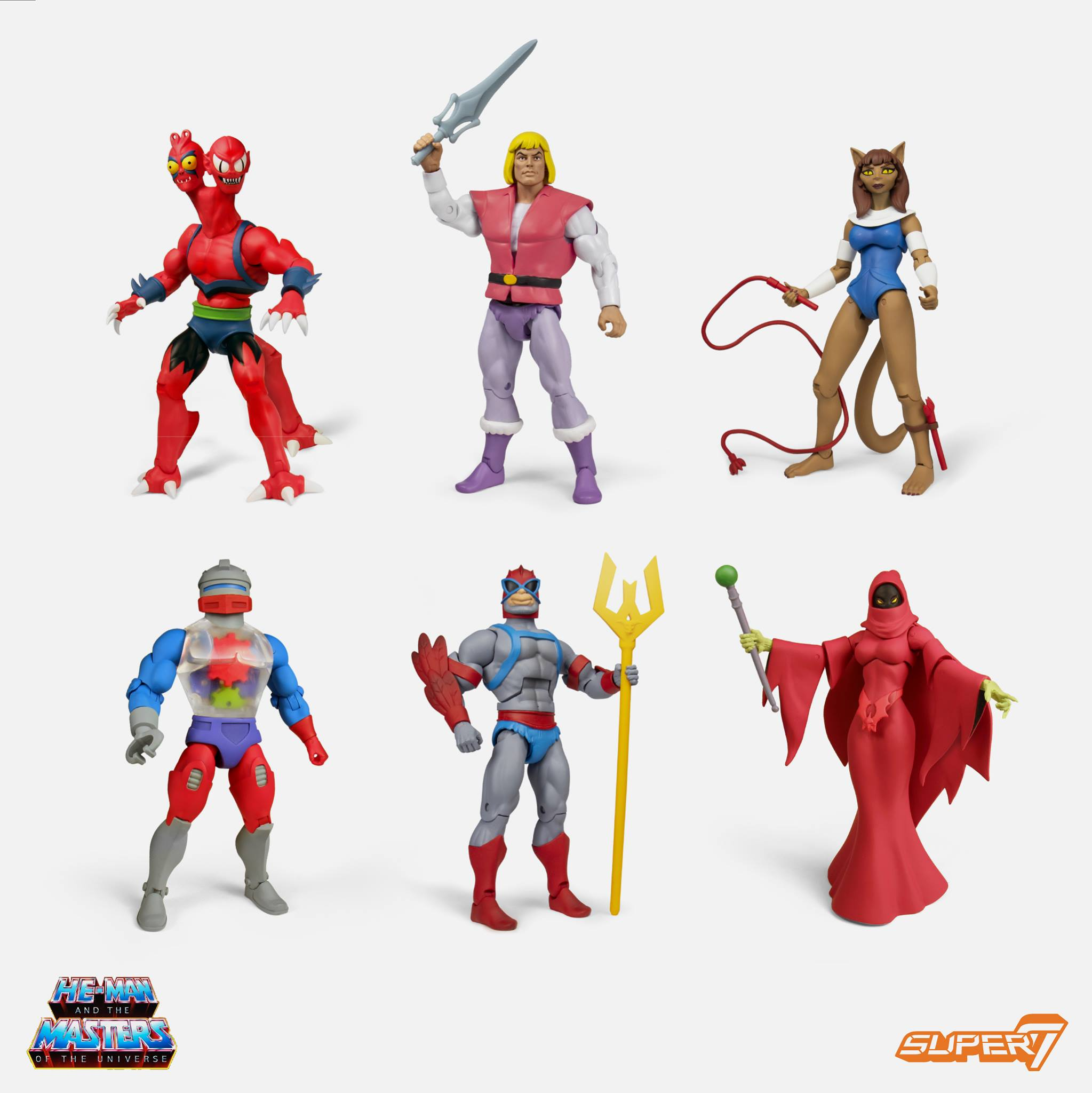 Updates News: Masters Of The Universe Club Grayskull Wave 4