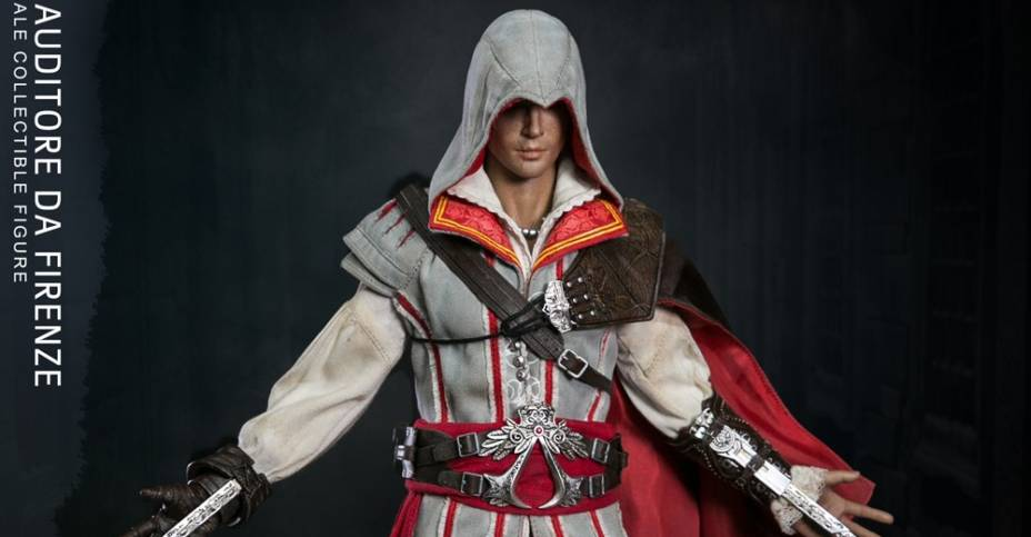 Damtoys AC2 Ezio Figure 001
