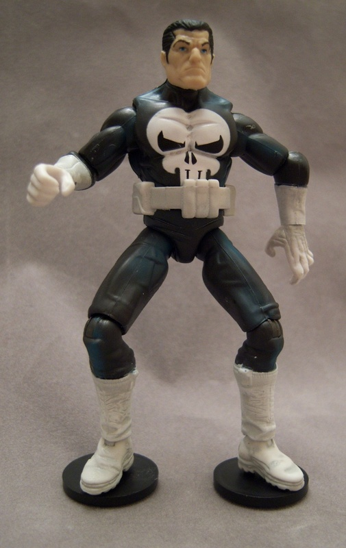 "Marvel Universe 3.75/"" Fury Files Punisher Loose Action Figure"