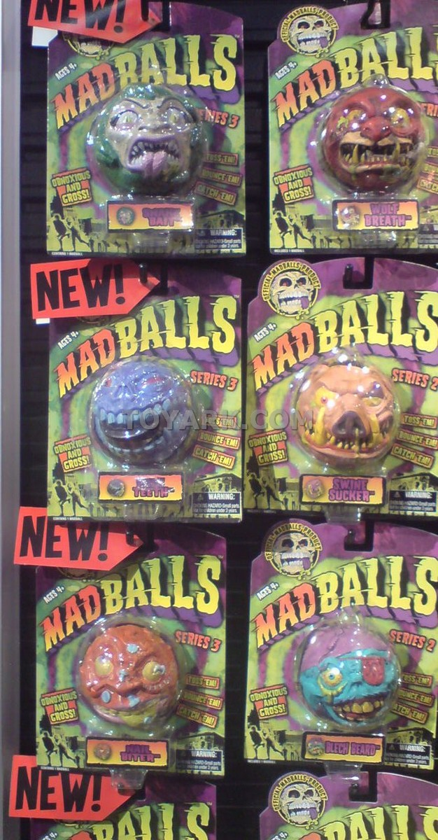Madballs Classic Amp Sick Series 2009 The Toyark News