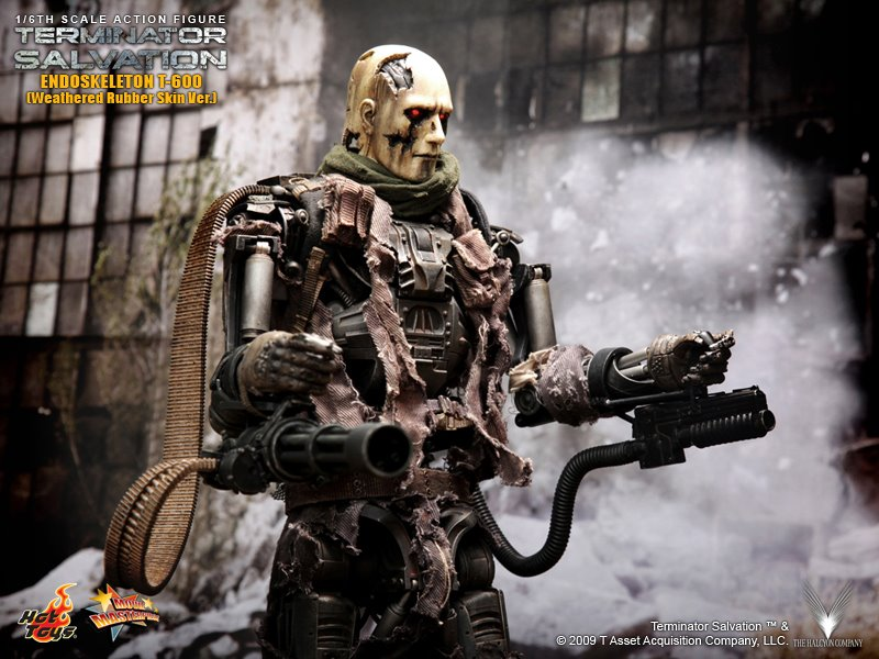 Hot Toys Terminator Salvation T 600 Images The Toyark News