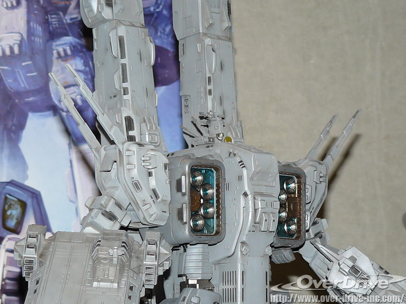Yamato 1/2000 SDF-1 Macross Color Images - The Toyark - News