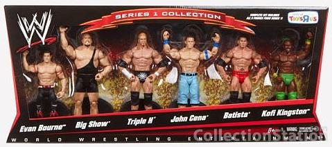 Mattel Wwe Toys R Us Exclusive Series 1 Collection 6 Pack The