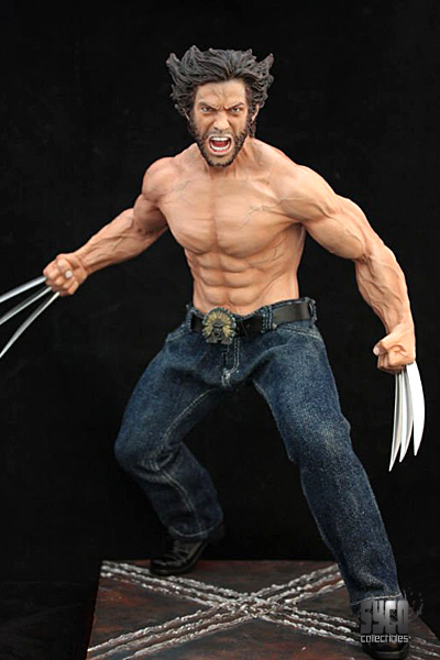 Wolverine Mixed Media Statue From Syco Collectibles The