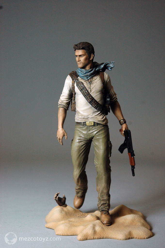 Some Uncharted 3 Nathan Drake Figures Announced The Toyark News
