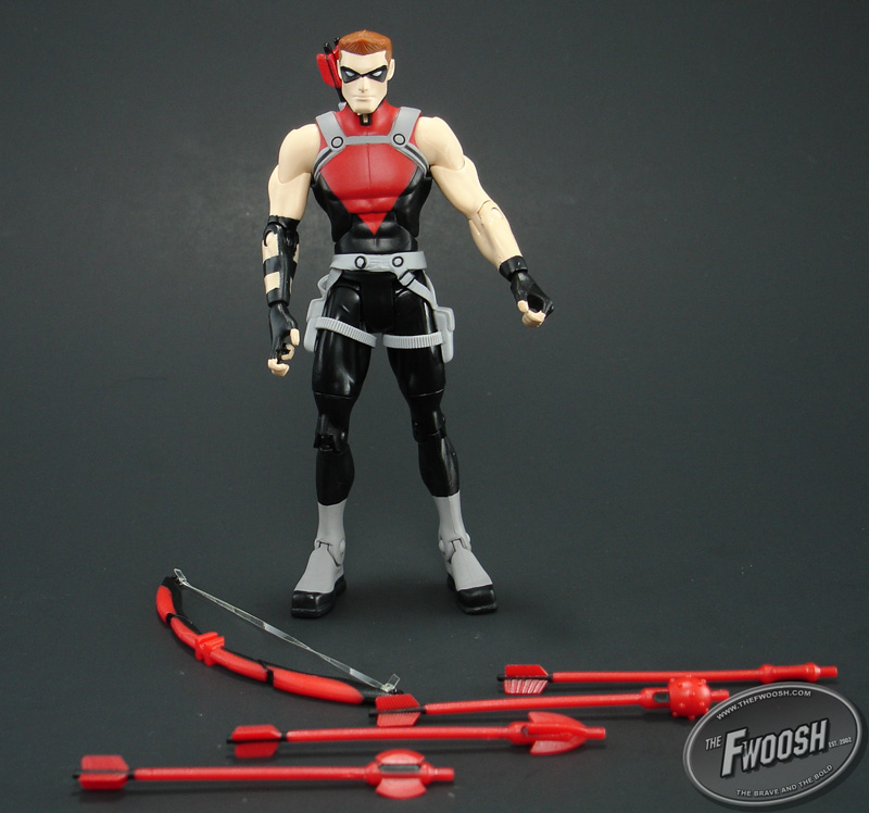 In Depth Look Dcuc Young Justice Red Arrow The Toyark
