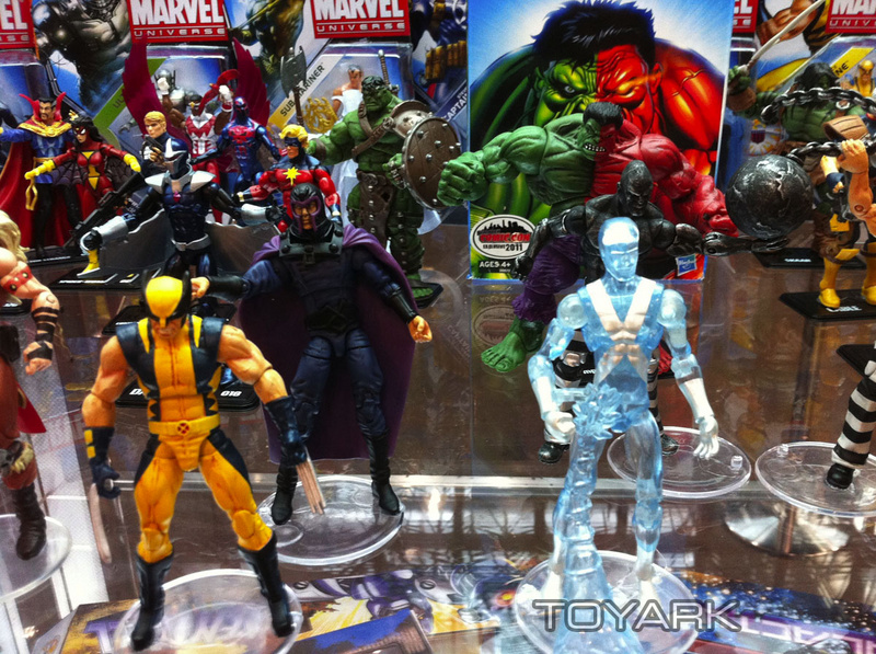 Marvel Universe And Legends Display At NYCC - The Toyark - News
