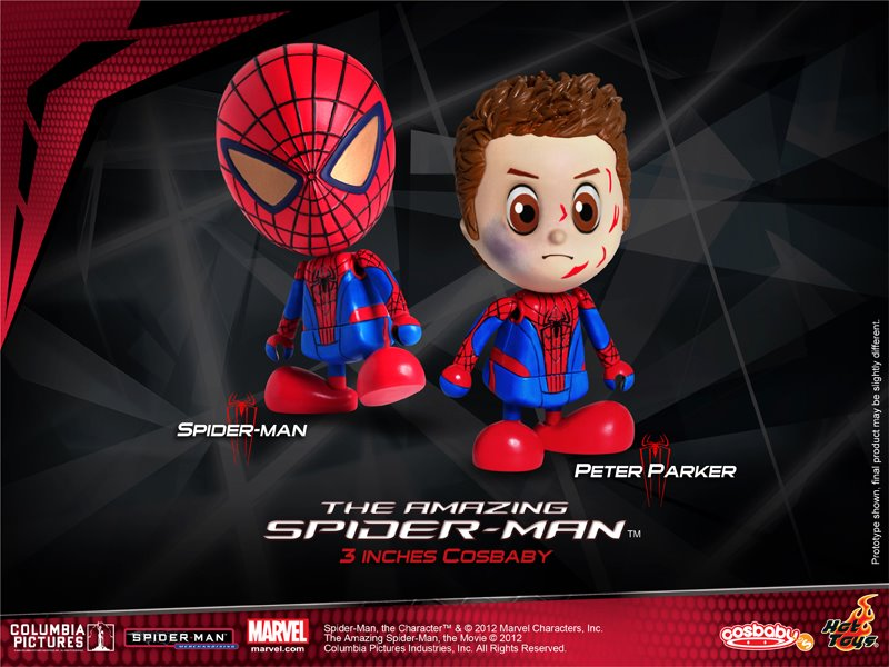 Hot toys reveals amazing spider man cosbaby the toyark news - Lego the amazing spider man 3 ...