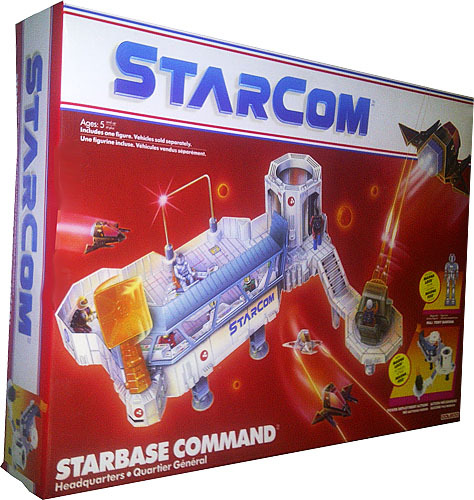 STARCOM Parts 1986 STARBASE Command small missile TURRET coleco