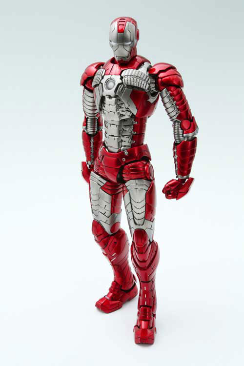 Iron Man Mark V Art Spirits Figure Images - The Toyark - News