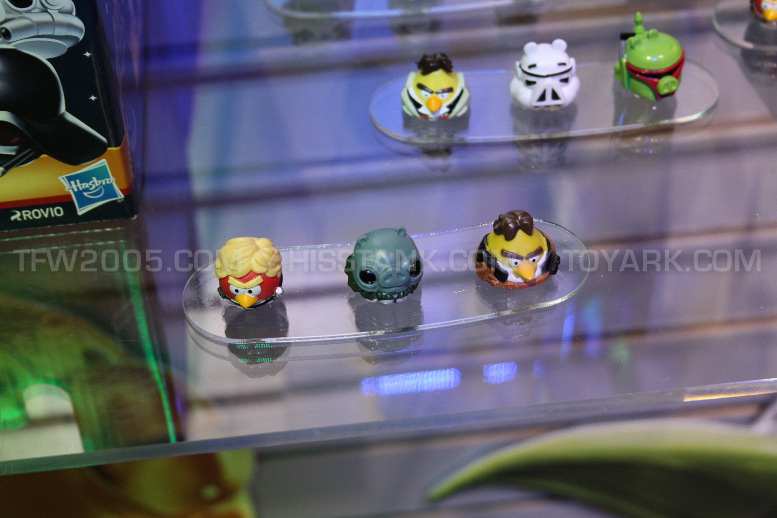 angry birds star wars toys from toy fair 2013 the toyark news. Black Bedroom Furniture Sets. Home Design Ideas