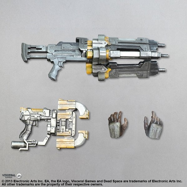 Dead Space 3 Rifle Dead Space 3 Isaac Cla...