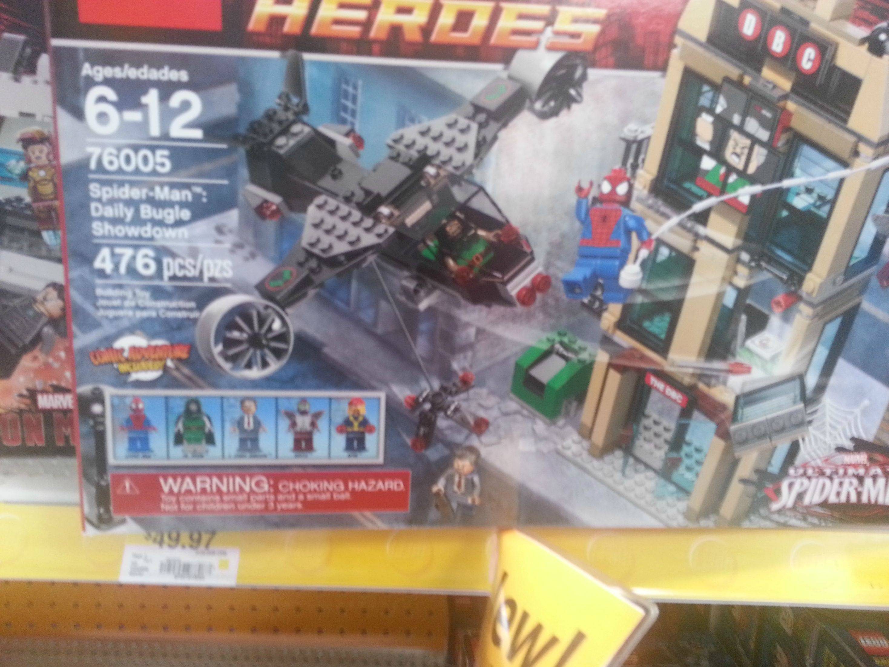 Sets Iron The Marvel 3 Man Walmart Usm At New And Found Lego SzGpqUVM