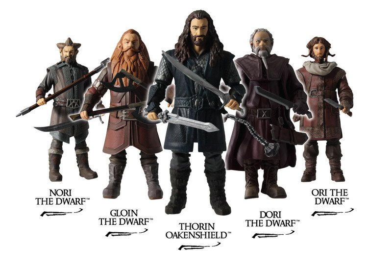 "Lord of The Rings Thorin Oakenshield Dwarf King Action Figure 3.75/"" The Hobbit"