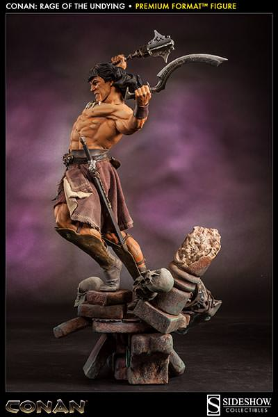 Sideshow Reveals Conan the Barbarian - Rage of the Undying ...