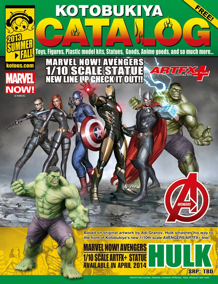 Kotobukiya Released Their Sdcc 2013 Catalog Online The Toyark News