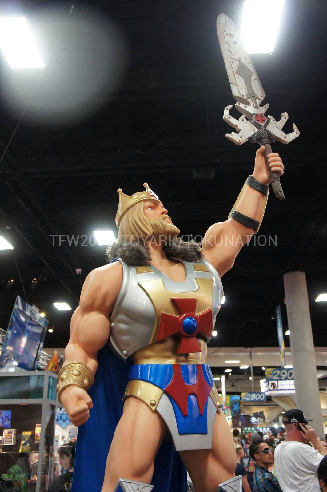 SUPER7 WHIPLASH TRI KLOPS MERMAN SDCC 2015 MOTUSCLE MASTERS OF THE UNIVERSE