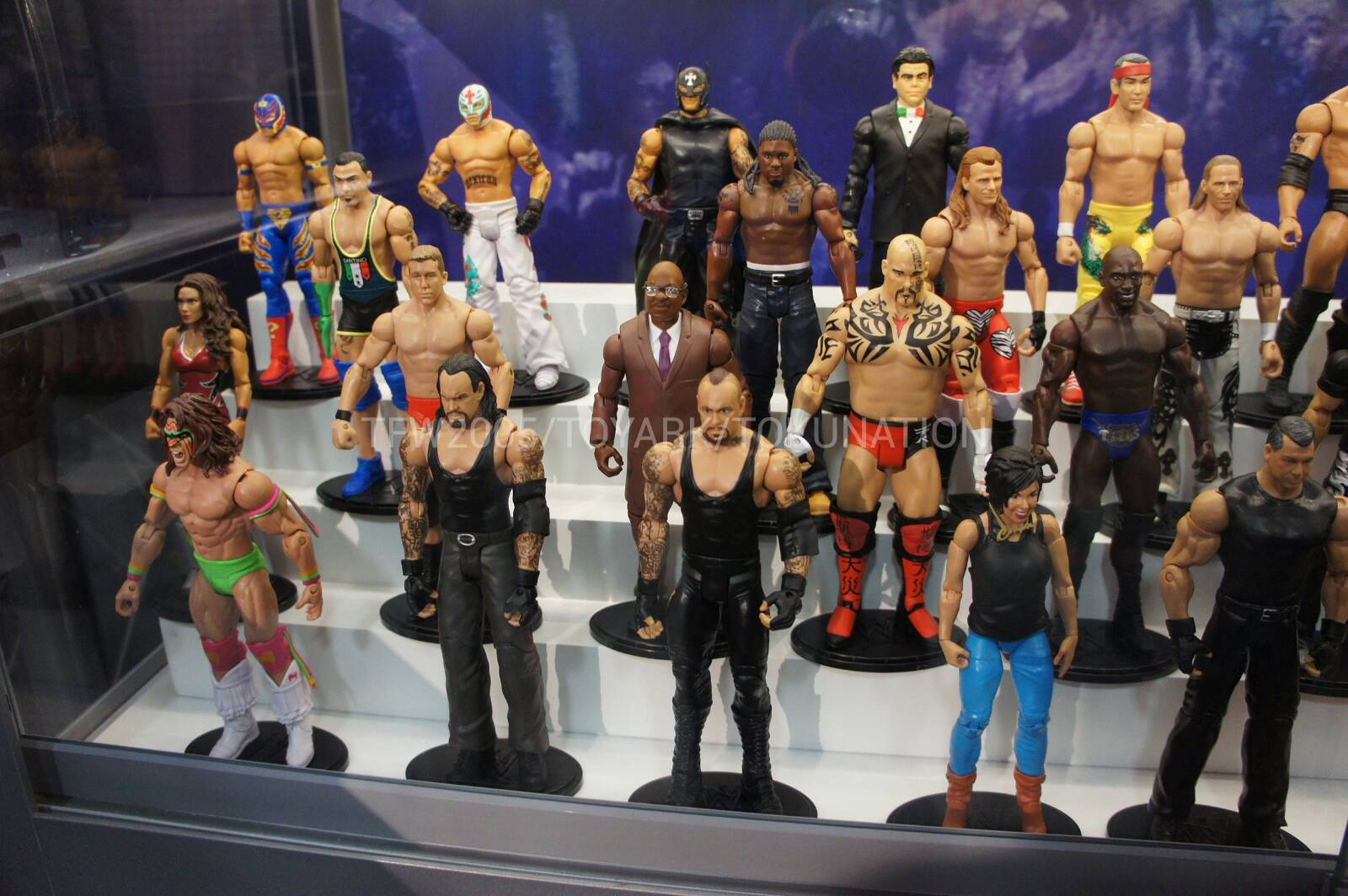 WWE ELITE COLLECTION PODIUM MARVEL WRESTLING FIGURE ACCESSORY STAND