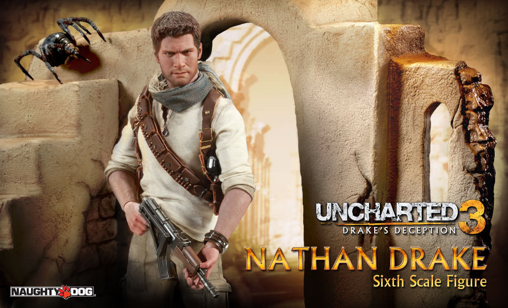 Sideshow Prepping Uncharted 3 Nathan Drake For Full Reveal The