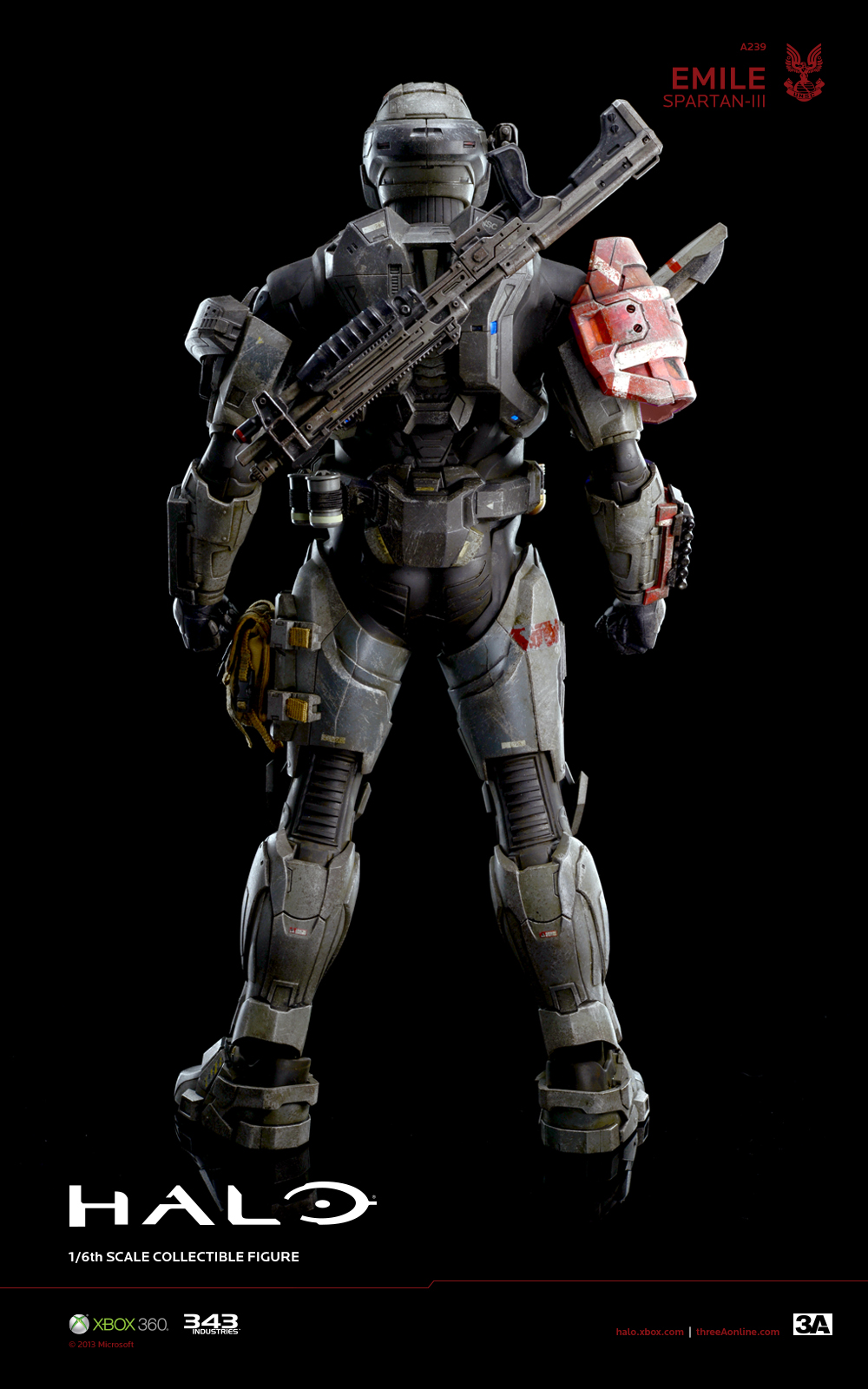 New Images and Info For 3A Halo Reach Emile and EVA - The Toyark - News