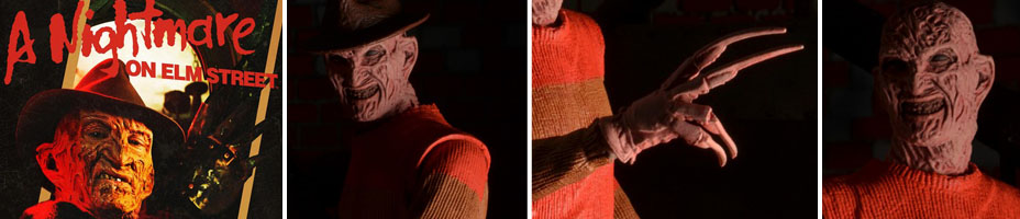 "/""Power Glove Freddy/"" 7 Scale Action Figure Nightmare on Elm St Series 4 NECA 39827"