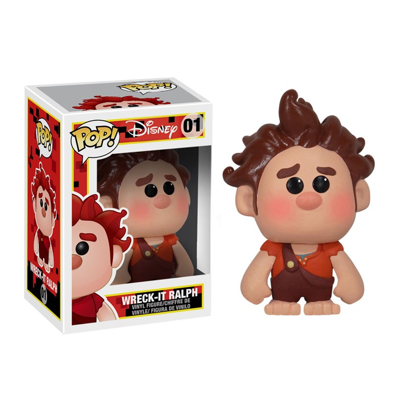 Wreck It Ralph Pop Vinyls And Disney Pop Minis 2 Packs