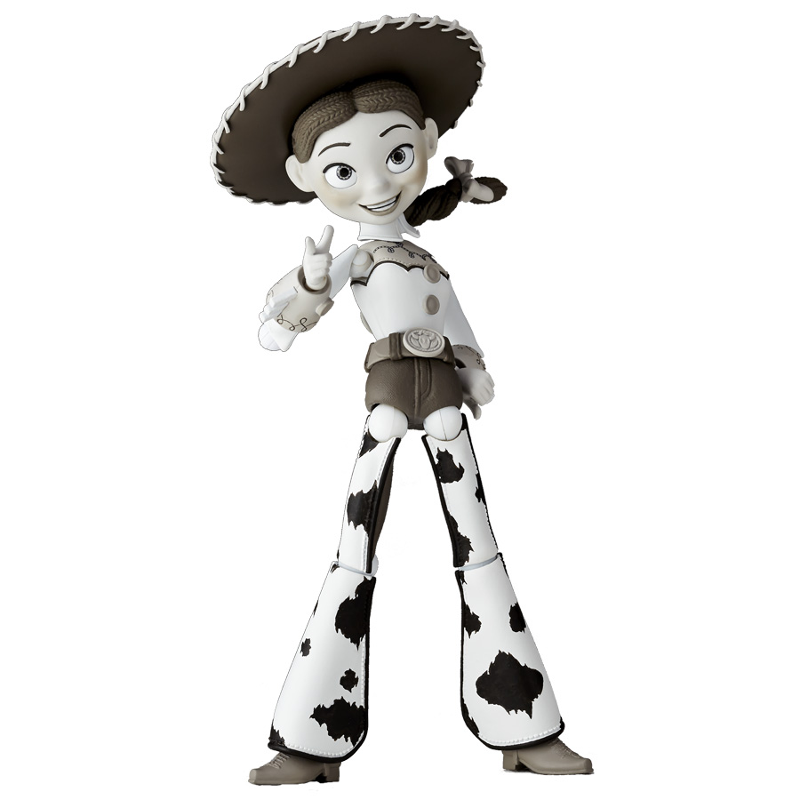 Revoltech Toy Story Woody and Jessie Black and White ...