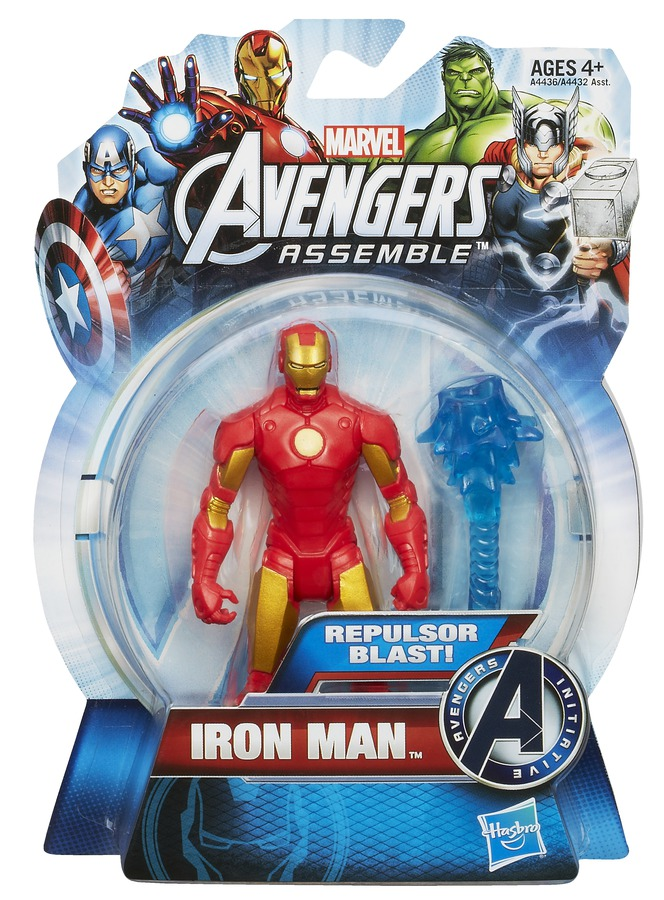 Hasbro Marvel A7363 Avengers Titan Heroes Action Figur IRON MAN mit Battle Racer