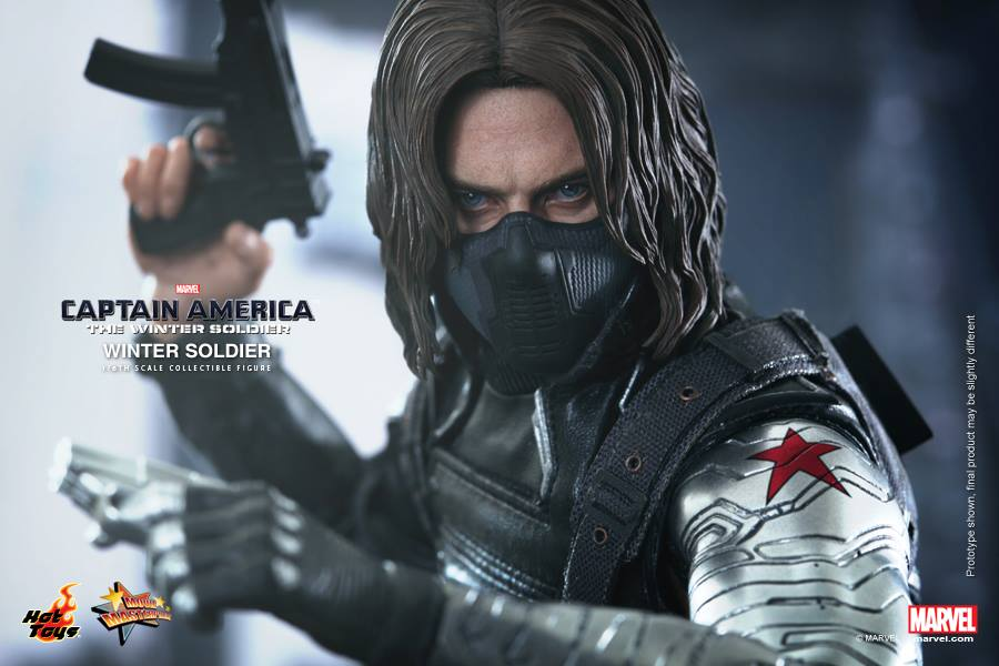 Hot Toys Reveals The Winter Soldier 1/6 Scale Figure - The