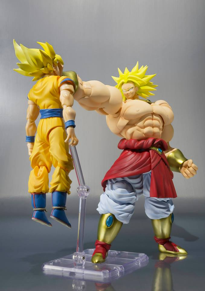 Dragon Ball Z Sh Figuarts Broly Images And Info The