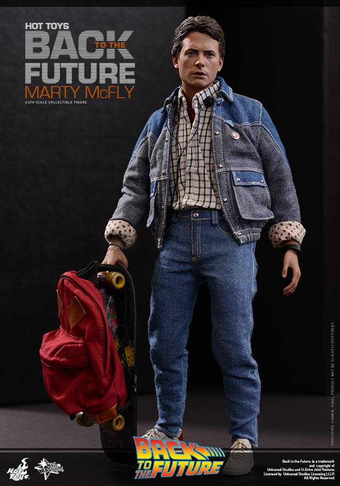 hot toys finally reveals back to the future marty mcfly the toyark news. Black Bedroom Furniture Sets. Home Design Ideas