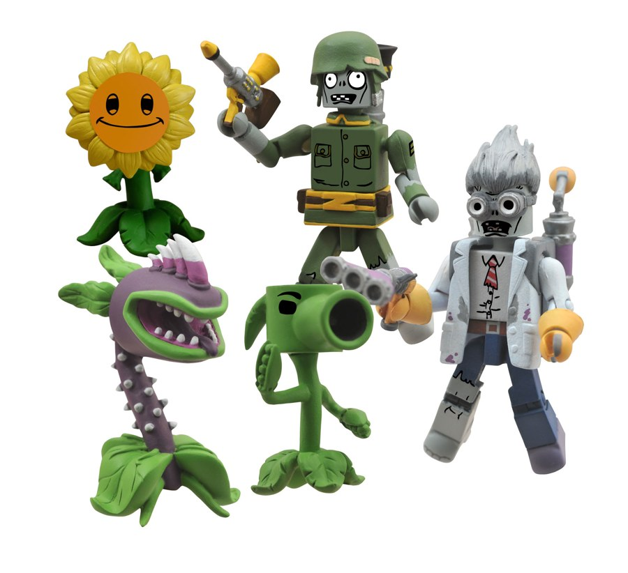 Plants Vs Zombies Garden Warfare Toys Update The Toyark