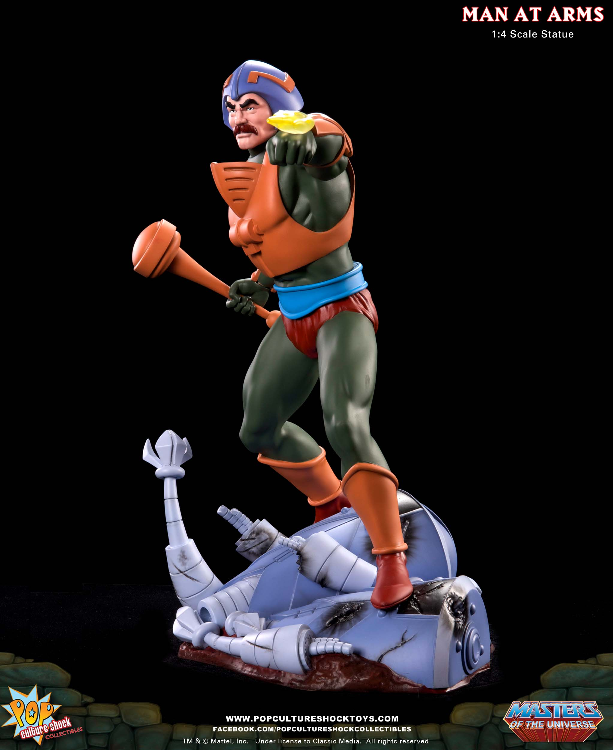 Pop Culture Shock Man-At-Arms Official Images and Pre-order Info
