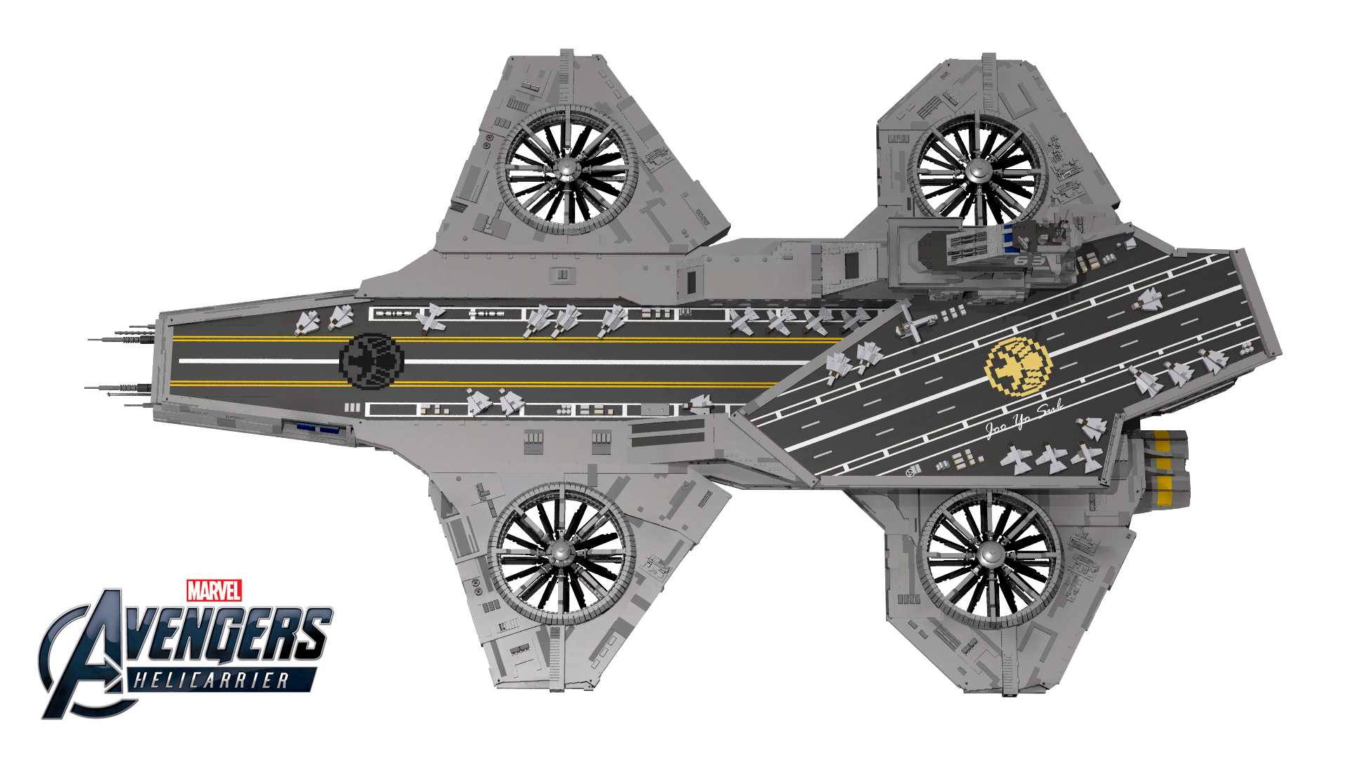 LEGO Marvel Super Heroes UCS Helicarrier 76042 - The ...