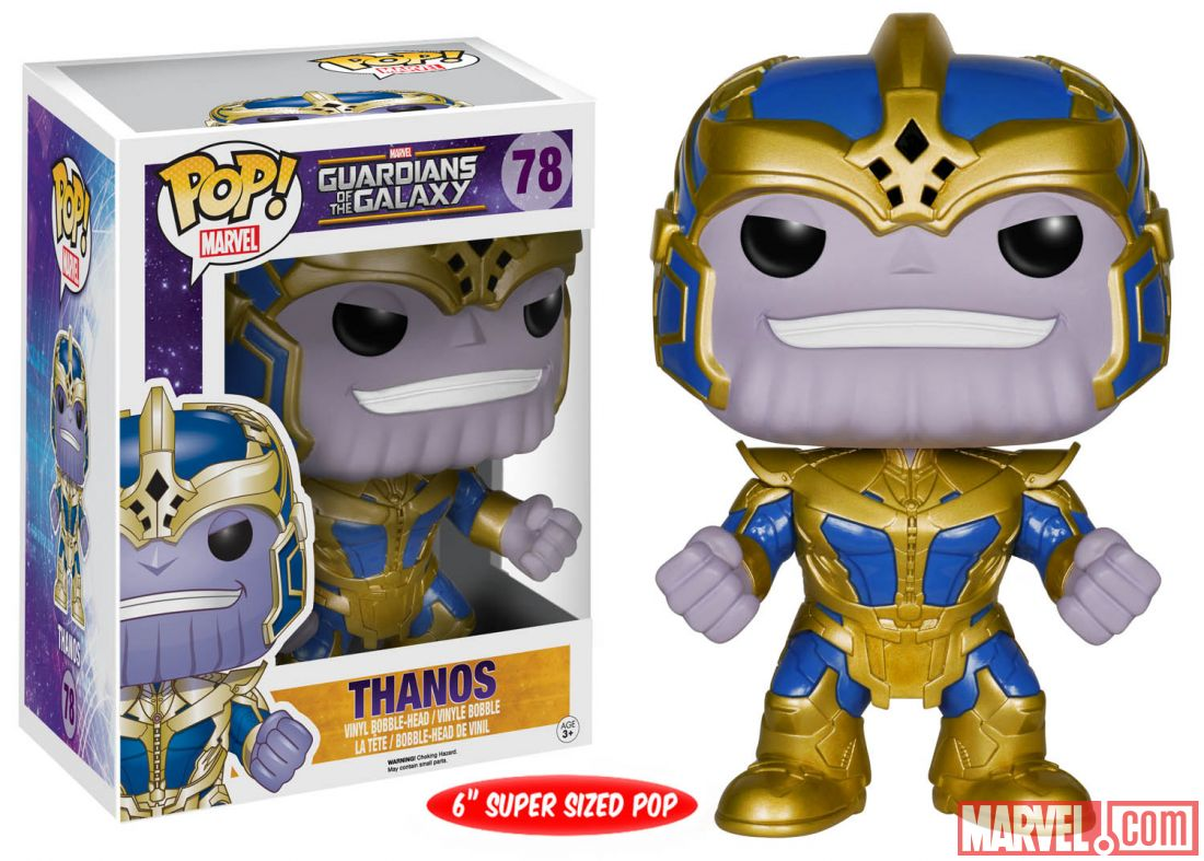 More Guardians Of The Galaxy Pop Vinyl Figures The