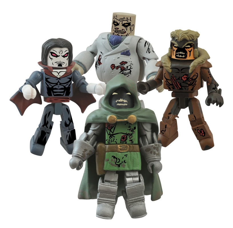 New From Dst Marvel Zombies Minimates Batman And More