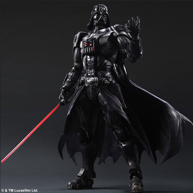 play arts kai star wars variant darth vader - the toyark