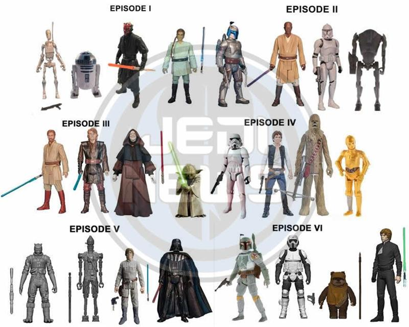All Star Wars Toys : Star wars figure box sets and the force awakens lego