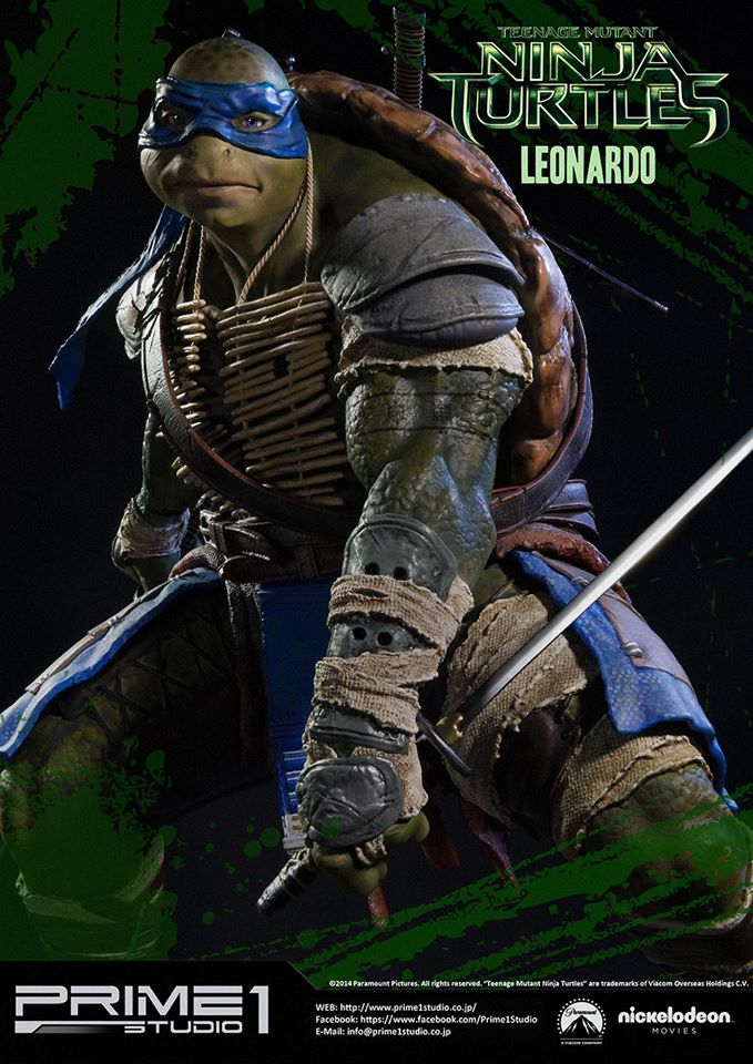 Prime 1 Studio Teenage Mutant Ninja Turtles 2014 Leonardo