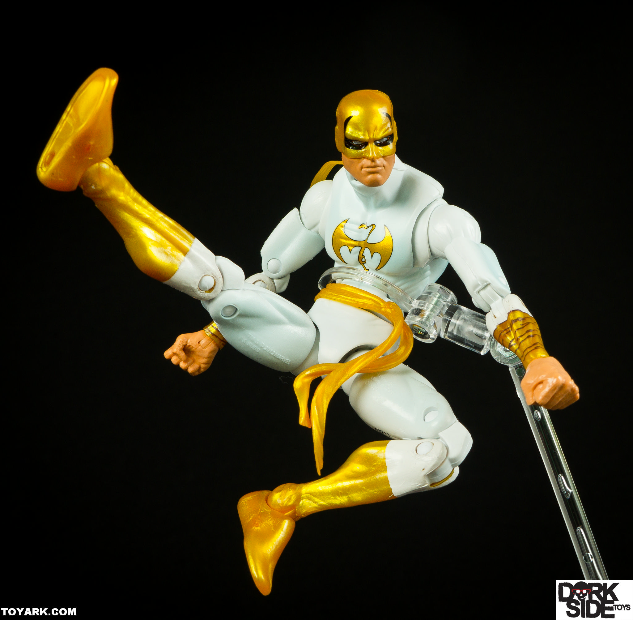 Marvel Legends Iron Fist Allfather Wave Photo Shoot The