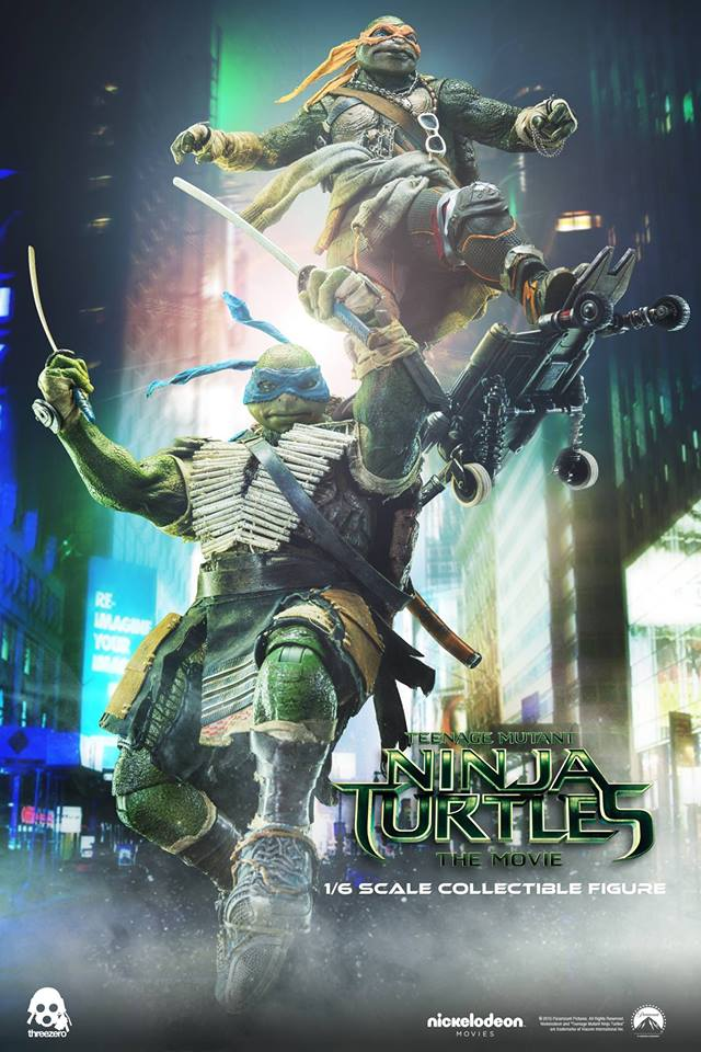 Preview For Teenage Mutant Ninja Turtles 2014 Figures By Threezero The Toyark News