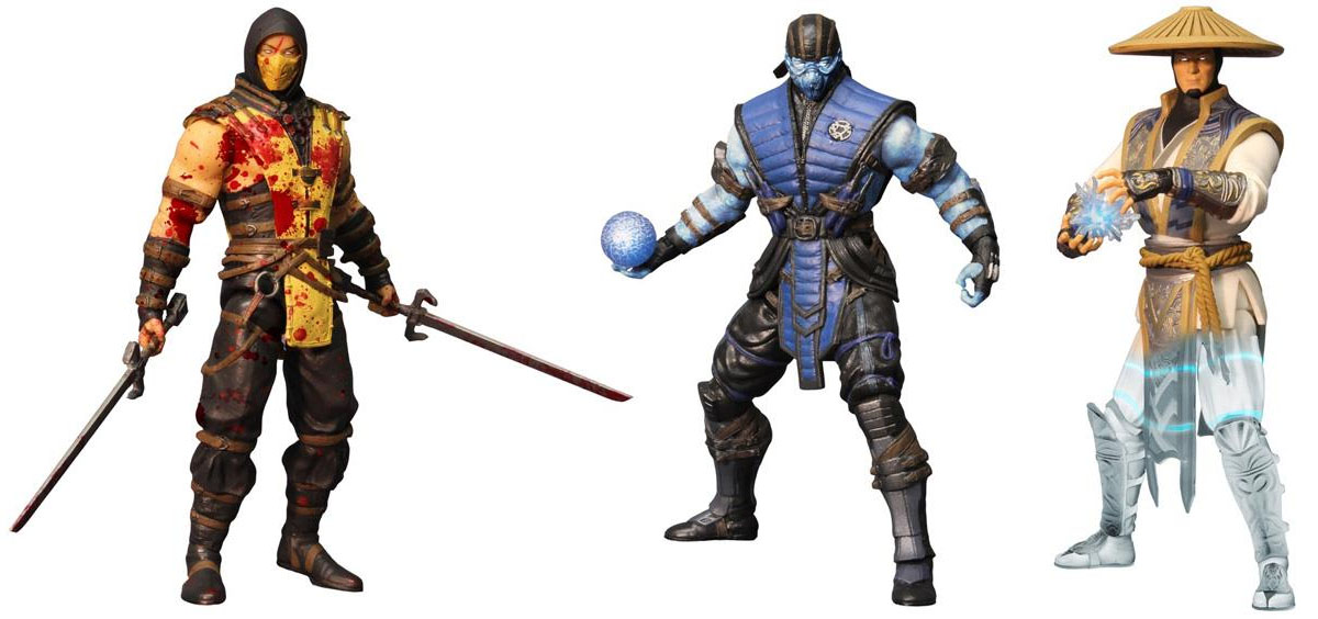 Previews Exclusive Mortal Kombat X 6-Inch Figure Variants - The